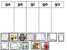 FREE Silabas con g