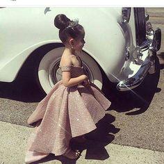 Champagne Flower Girl Dresses 2019 High Low Glitter Kids Prom Dress Pageant Little Girl Dress Kids Prom Dresses, African Dresses For Kids, Little Girl Dresses, Pageant Dresses, Party Dresses, Evening Dresses, Formal Dresses, Cute Kids Fashion, Baby Girl Fashion