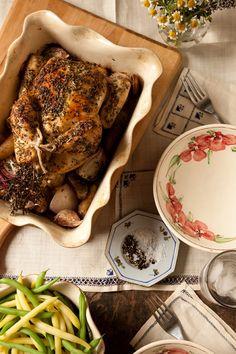Herbs de Provence Roast Chicken