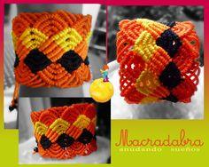 #Macrame en Naranja by Macradabra