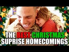 [VIDEO] THE BEST CHRISTMAS SURPRISE MILITARY HOMECOMINGS  |  Here is a compilation of some of the best Christmas surprise homecoming videos that have been sent into the blog over the years. Thanks to all who have served in the past, those who are serving now, and the families and friends that offer much needed support. Merry Christmas from Welcome Home Blog!