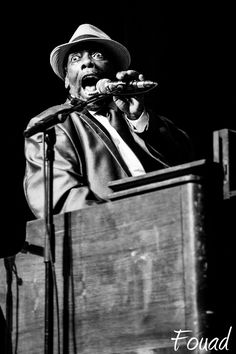 Photograph Lucky Peterson live in PARIS - Odéon - 2014 by fouadoulicious on 500px