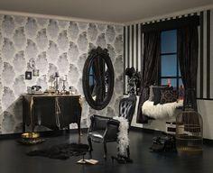 Stylowy salon. Aranżacja prosto z http://innetapety.pl/aranzacje-salonu