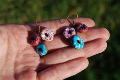 Donut earings por Hybridary en Etsy, €7.00 Donuts, My Etsy Shop, Drop Earrings, Jewelry, Fashion, Handmade Gifts, Hand Made, Frost Donuts, Moda