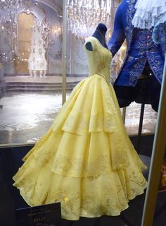 Emma Watson's Belle costume from Beauty and the Beast, designed by Jacqueline Durran