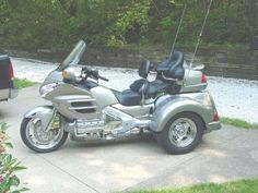 Motorcycle trike picture