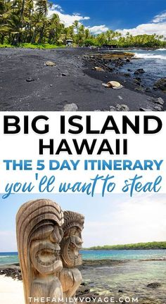 Kick start your Big Island travel planning with the perfect 5 day Big Island itinerary! We'll show you the best things to do on the Big Island of Hawaii, where to stay on the Big Island and even where to eat and snorkel! Hawaii Travel Guide, Usa Travel Guide, Travel Usa, Travel Tips, Travel Guides, Travel Abroad, Hawaii Volcanoes National Park, Volcano National Park, Places To Travel