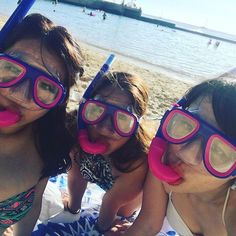 【yuri72beck】さんのInstagramをピンしています。 《満喫中✌️ シュノーケルで本気泳ぎ🏊🏻 #3CHawaii旅 #海 お日さん強すぎ#日焼け#真っ黒 やはり#ロコガール へ #水着#ビキニ#シュノーケル#素潜り #ハワイ#ワイキキ# Hawaii#trip#旅#旅行#アロハ#aloha#sun#beach#sea#swiming#bikini#locogirl#girls》