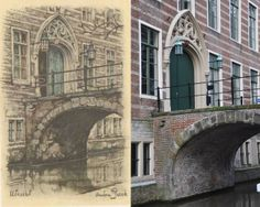 Utrecht Anton Pieck, Amsterdam Art, Utrecht, Barcelona Cathedral, Artists, Building, Travel, Kunst, Construction