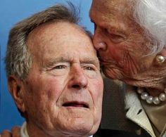 George & Barbara Bush