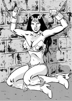Darna in chains by Eviltrevor on deviantART