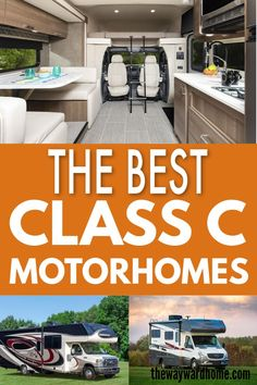 Are you overwhelmed by your search for small motorhomes? Let us help you with our pick of the best small Class C RVs. We will help with all your options! Small Motorhomes, Class C Motorhomes, Motorhomes For Sale, Popup Camper For Sale, Campers For Sale, Motorhome Living, Motorhome Interior, Class C Rv, Buying An Rv