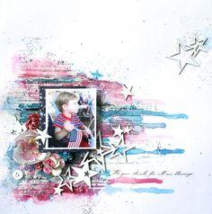 *Blue+Fern+Studios*+Stars+and+Stripes - Scrapbook.com