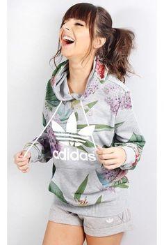 Moletom Adidas Trefoil Hoodie - fashioncloset                                                                                                                                                     Mais