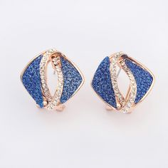 Gorgeous #Stud #Earring  http://www.beads.us/product/Zinc-Alloy-Stud-Earring_p278843.html?Utm_rid=194581