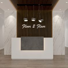 Curved Reception Desk, Office Reception, Reception Rooms, Luxury Office, Stylish Office, Dubai, Flooring, Office Reception Desks, Receptions