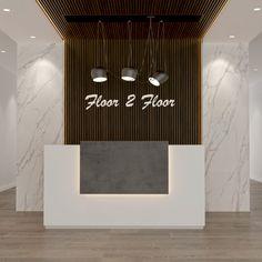 Curved Reception Desk, Office Reception, Reception Rooms, Luxury Office, Stylish Office, Dubai, Flooring, Office Reception Desks, Receptions