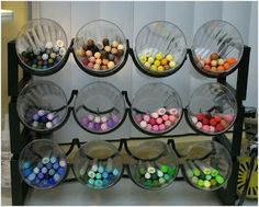Love this idea! Now I need to find a wine rack