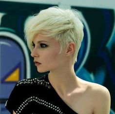 Popular and Stylish Blonde Pixie Cuts | The Best Short Hairstyles  for Women 2016