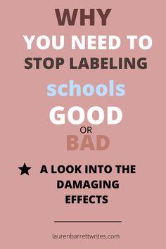 Failing School, Self Fulfilling Prophecy, Teaching Schools, Popsugar, Diversity, Fails, Students, Teacher, Education