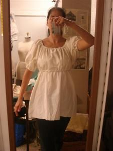 super easy nursing shirt