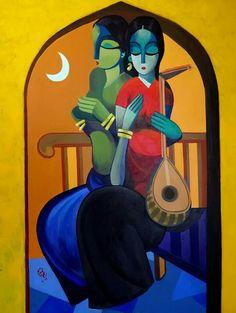 Iraqi artist,  Rana AlTaai الفنانة العراقية رنا الطائي