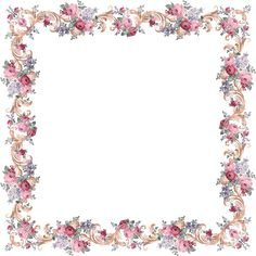 Victorian Floral Frame From PAPIROLAS COLORIDAS, free images but creator asks for email thank you message if you do use images Borders For Paper, Borders And Frames, Vintage Flowers, Vintage Floral, Motif Photo, Molduras Vintage, Printable Frames, Paper Frames, Decoupage Paper