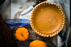 For those of us who cannot imagine Thanksgiving dinner not being followed by a slice of pumpkin pie.