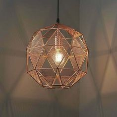 Endon Lighting Armour Geometric Pendant In Copper 5016087906536   eBay Copper Pendant Lights, Copper Lighting, Kitchen Pendant Lighting, Glass Pendant Light, Globe Pendant, Hallway Lamp, Pulley Light, Geometric Pendant Light, Ceiling Rose