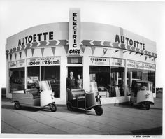 Lake Street Autoette :: Pasadena Museum of History   Who knew that the UPS store on N. Lake used to be an Autoette dealer?!