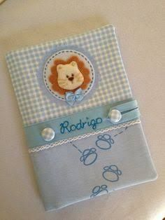 Handmade with love Bebe Baby, Baby E, Notebook Covers, Journal Covers, Cardmaking And Papercraft, Baby Crafts, Scrapbook Albums, Fabric Covered, Holidays And Events
