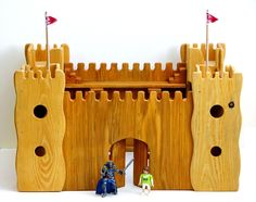 handmade wooden castle from WoodNack by DaWanda.com