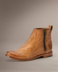 851167144bbd Anna Outside Zip Shootie - Bootie - The Frye Company The Frye Company