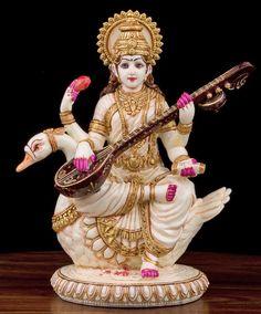 Lakshmi Statue, Kali Statue, Saraswati Statue, Krishna Statue, Saraswati Mata, Saraswati Goddess, Saraswati Idol, Rishikesh, Manish