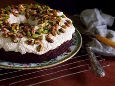 autumn harvest carrot cake topped with vanilla cream frosting. Sugar free, dairy free, gluten free, GAPS, SCD, PALEO