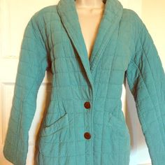 NWOT FINAL PRICE CUT Unique Eucalyptus jacket S/M Great jacket for fall and spring.  Never worn, perfect condition.  Looks great on, nice tailored fit. Jackets & Coats