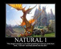 Natural 1 (Dragon style)