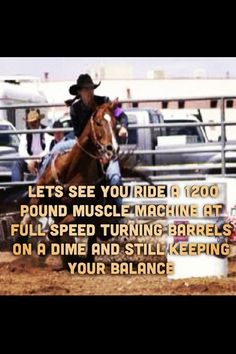 barrel racing quotes - Google Search