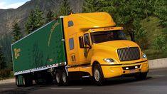 American Truck Simulator, Transportation, Semi Trucks, Trailers, Gaming, Videogames, Hang Tags, Game, Big Rig Trucks