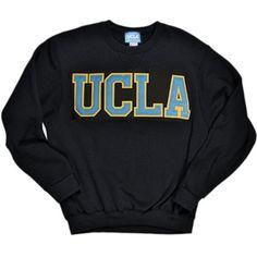 UCLA Bruins Classic Crewneck Sweatshirt - Black