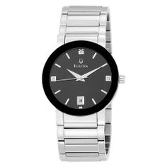 Bulova Men's 96D18 Stainless Steel Watch Bulova. $119.00. Quality Japanese-quartz movement. Save 63% Off!