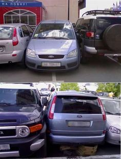 Nice Parking: Squeeze In