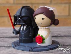 Star Wars Darth Vader Wedding Cake Topper Genefy 04jpg cakepins.com