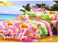 Sprei Star Collection Motif Lady Tulipe di BediBedi