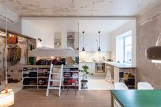 Peek Inside One Of Sweden's Tiniest Apartments #refinery29