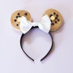 I Make Fake Desserts And Turn Them Into Headbands Diy Disney Ears, Disney Mickey Ears, Disney Diy, Disney Crafts, Cute Disney, Disney Food, Disney Headbands, Kids Headbands, How To Make Headbands