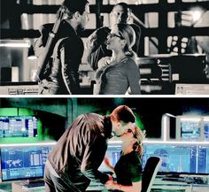 3 seasons later and look at how far we've come. #Olicity <3