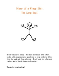 diary of a wimpy kid questions pdf