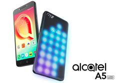 MWC 2017: Alcatel launches A5 LED the world's first interactive LED-covered smartphone. #Android #Google @GoogleEden  #GoogleEden
