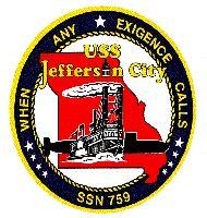 USS Jefferson City...husbands new boat. Can't wait!